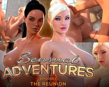 Sensual Adventures - Episode 1 [The Reunion] (2018) WEB-DL