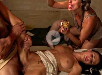 [Fetish] Family anal fest | Семейный Анальный Праздник (2019) HD 1080p