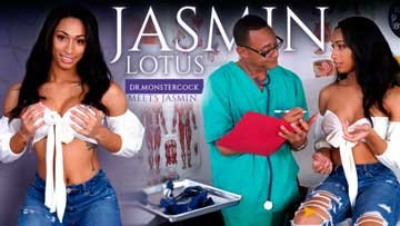 [SheMale] Jasmine Lotus - Dr.Monstercock Meets Jasmin (2020) SiteRip