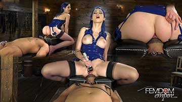 [FemDom] Jewelz Blue - Slave To The Clit (2020) HD 1080p
