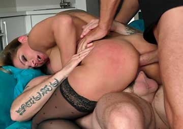 Angel - Back in porn again with a threesome (2020) SiteRip