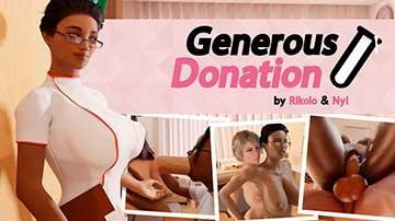 Generous Donation   Щедрое Пожертвование (2019) HD 1080p