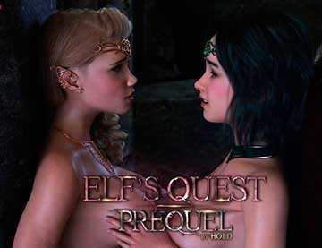 Elf's Quest - Prequel [1920x1080] [Количество страниц - 128] JPG, Webm
