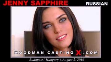 Jenny Sapphire - Woodman Casting X (2020) SiteRip