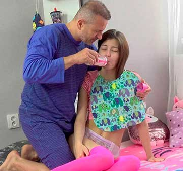 Cindy Shine - Young brunette gets to taste dairy cock (2020) HD 1080p