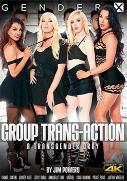 Group Trans-Action - Транссексуальная Групповуха (2020) HD 1080p