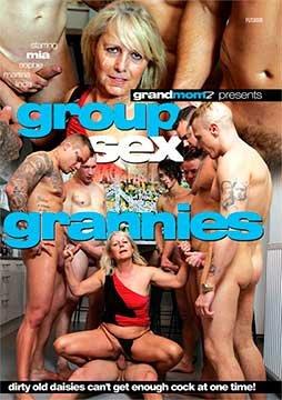 Group Sex Grannies | Групповой Секс с Бабушками (2019) DVDRip