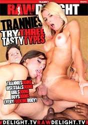 Trannies Try Three Tasty Types   Транссексуалы Пробуют Три Вкусных Вида (2020) WEB-DL