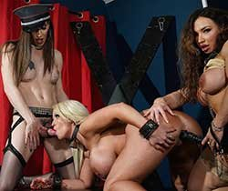 Melanie Brooks, Alura Jenson, Brandi Mae - In Threesome Domination (2020) SiteRip