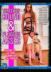 Threeway Bound and Plugged Asses | Связанный Тройничок с Пробкой в Жопе (2019) HD 1080p