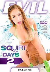 Squirt For Days 2 | Сквирт Днями Напролёт 2 (2020) DVDRip