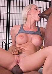 Blanche Bradburry - Well-Endowed Czech Blonde Blanche Bradburry Gets 2 BBCs at Once (2021) HD 2160p 4K
